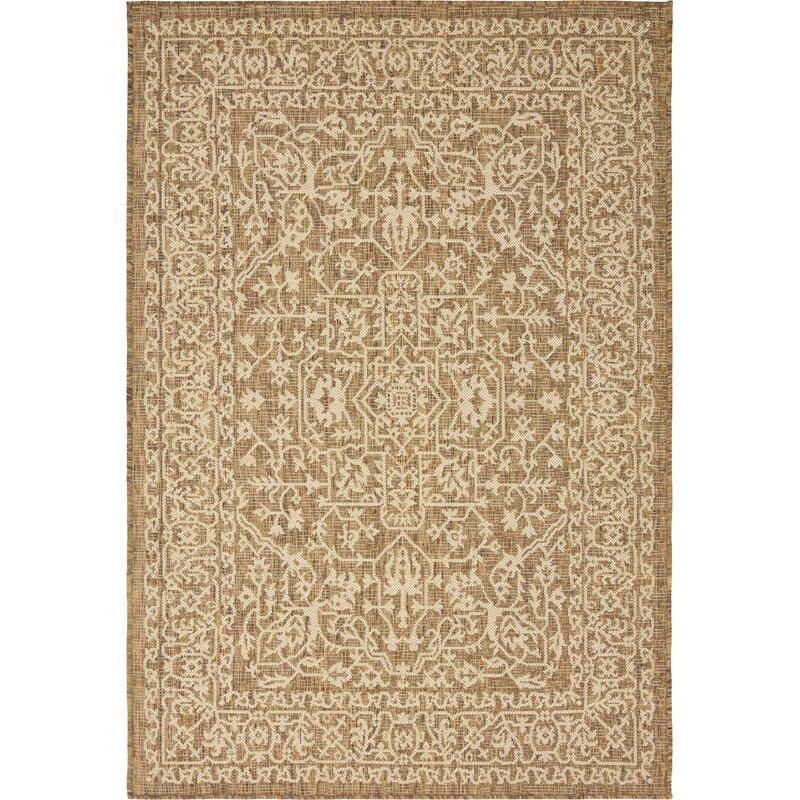 brown outdoor rug