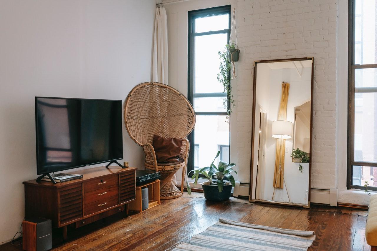 lighting a living room