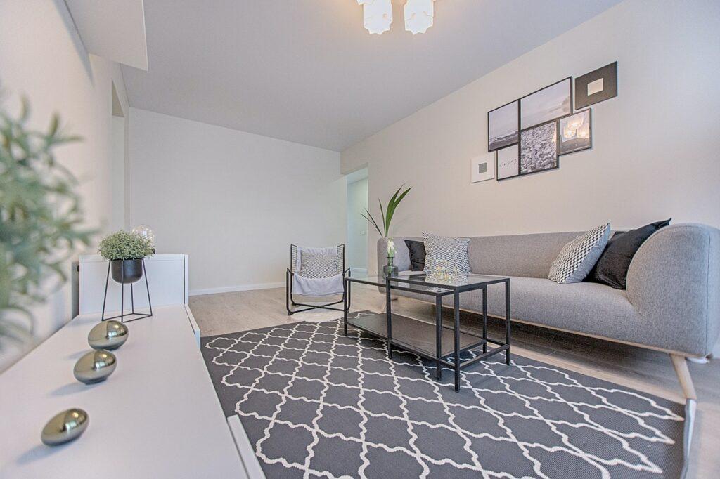 minimal living room color palette