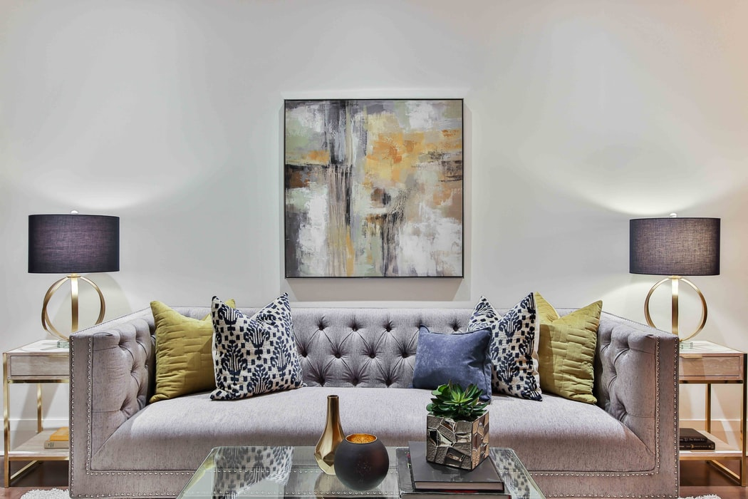 side table lamps in living room